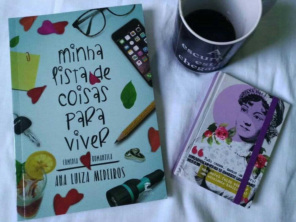 Minha Lista De Coisas Para Viver - Ana Luiza Medeiros